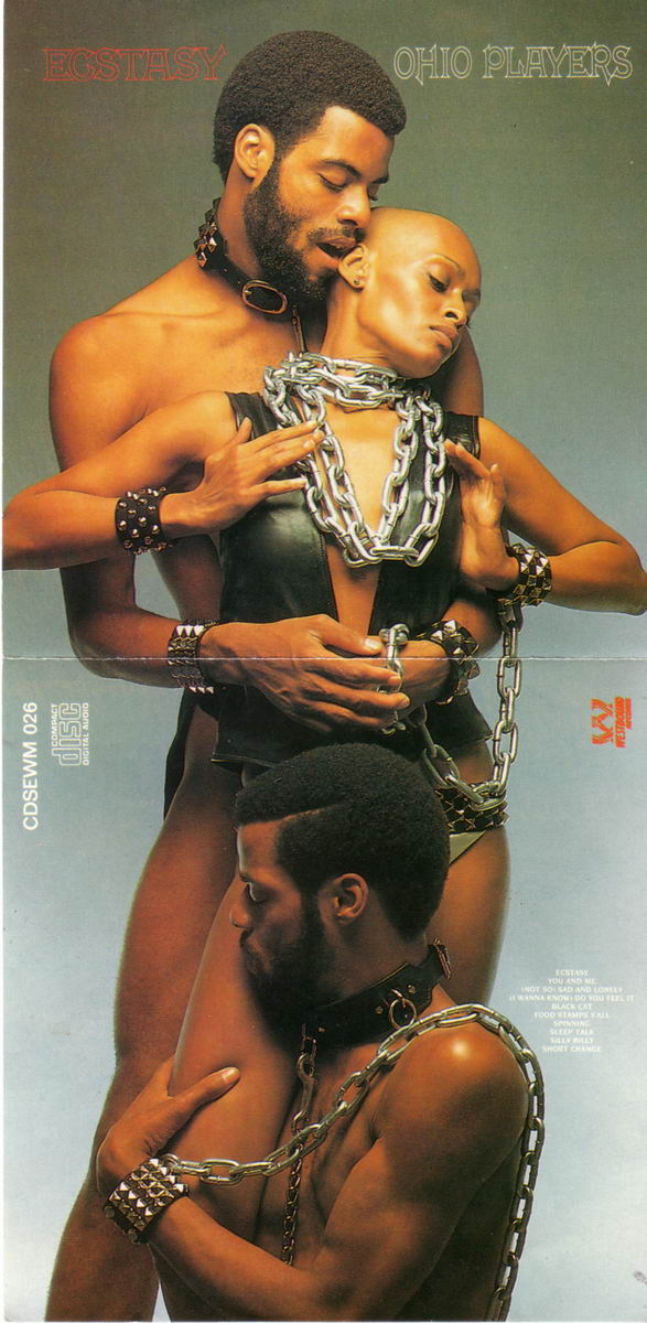 Ohio Players_inside foldout photograph from their 1973 album entitled Ecstasy