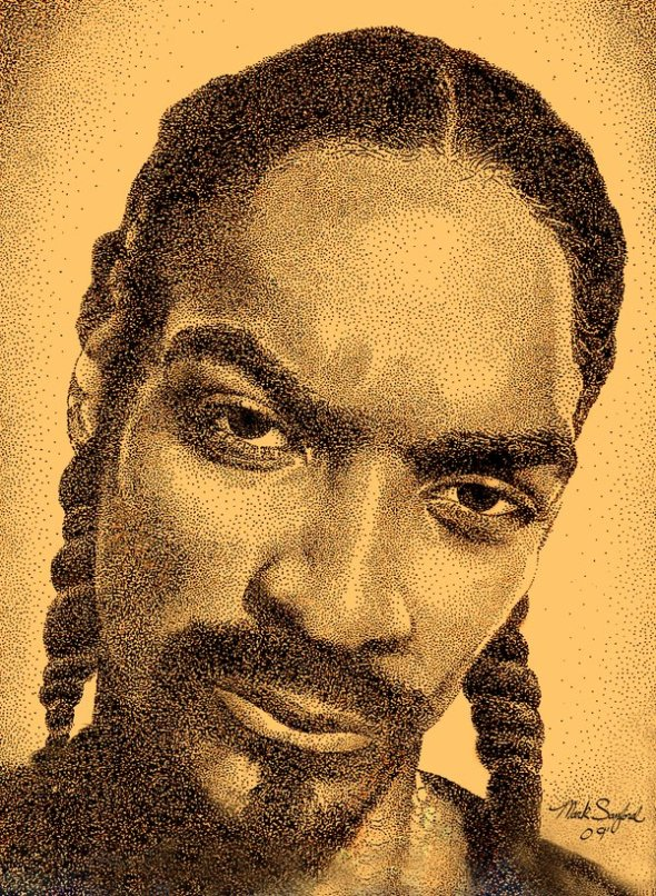Snoop Dogg portrait by Mark Sanford_2009