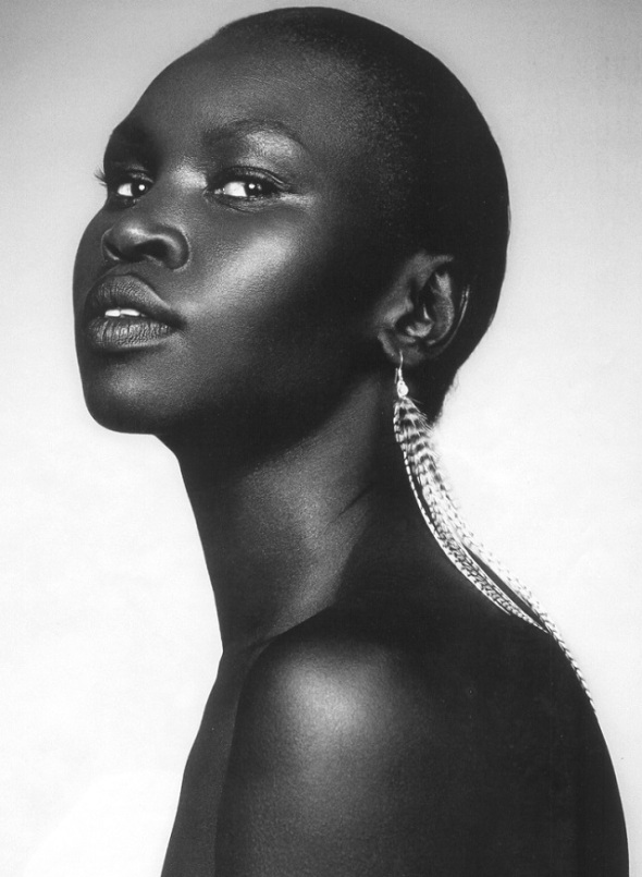 South Sudanese British model Alex Wek_born 1977