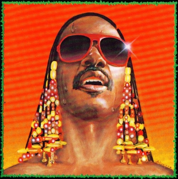 Stevie Wonder_album cover painting from his Hotter Than July album_1980