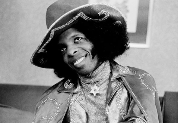 Sylvester Stewart...better known as Sly Stone