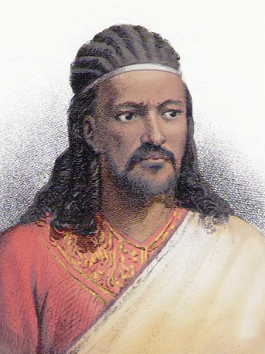Téwodros II_1818 to 1868_Emperor of Ethiopia