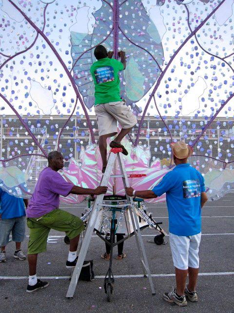 Trinidad Carnival 2014_Preparations A