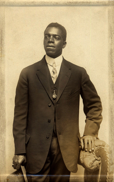 Unknown Black American gentleman_around 1900