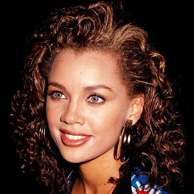 Vanessa Williams in 1988 when her song Dreaming went Number 1 on the R and B charts