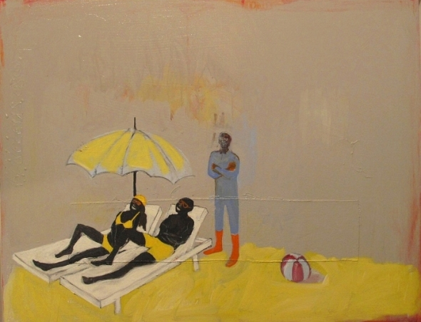 Francks François Décéus_On the beach_Sur la plage_2009