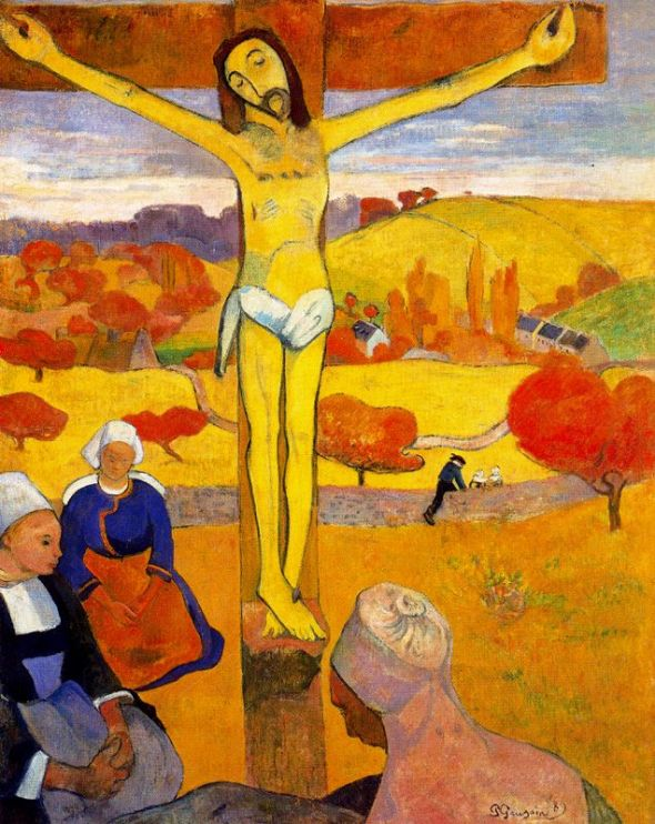 Paul Gauguin_Le Christ jaune_1889_oil on canvas