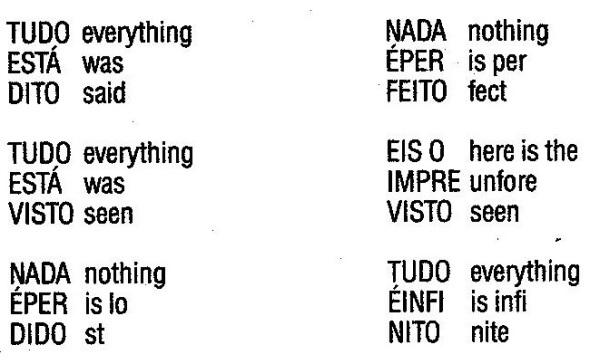 Augusto de Campos_Everything was said_1974