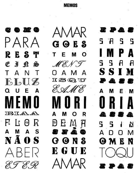 Augusto de Campos_Memos_1976
