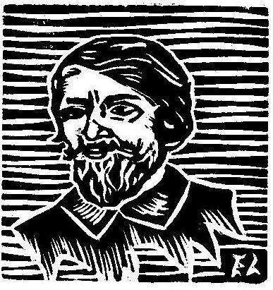Gregório de Matos_xilogravura por Érick Lima