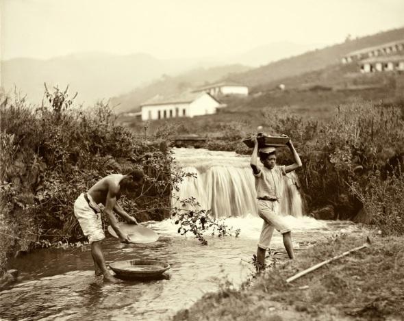 Lavagem do ouro_ Minas Gerais_1880.
