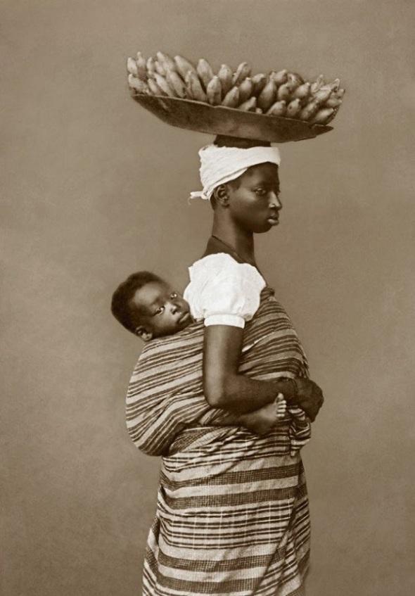 Negra com o filho_ Salvador em 1884