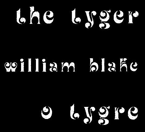 O Tygre_title_Augusto de Campos translation of the William Blake poem