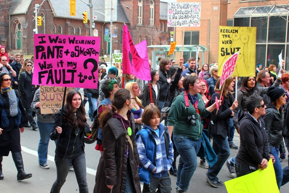 The first SlutWalk_Toronto Canada_April 2011