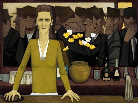 John Brack_The Bar_1954