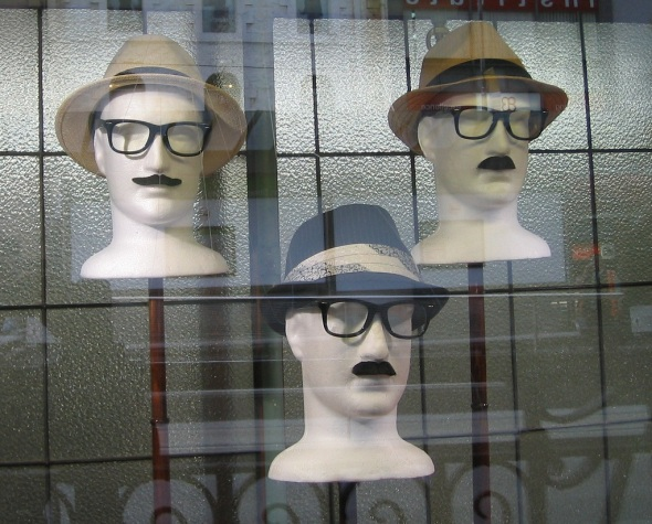 Melbourne_City Hatters display window B_September 2014