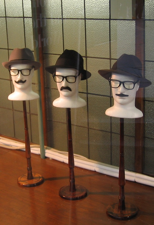 Melbourne_City Hatters display window C_September 2014