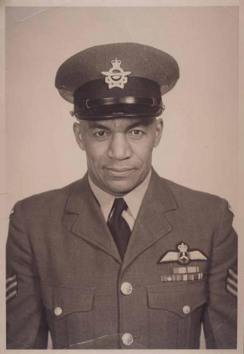 Gerald Bell born 1909 in Hamilton Ontario_Gerry Bell was Canadas first Black pilot_ the second being Alan Bundy_They served during WW2
