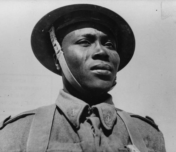 Photograph from 1942_soldier from Chad who fought for France during WW2