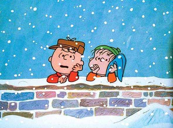 Charlie Brown and Linus_scene from A Charlie Brown Christmas_1965