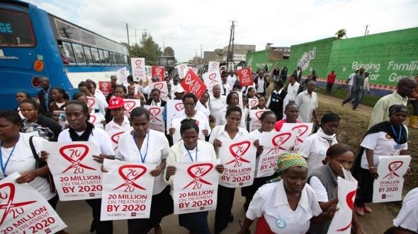 Nairobi Kenya_World AIDS Day_December 1st 2014