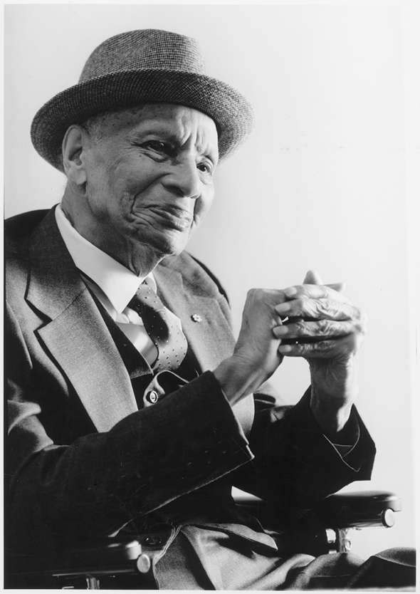 Donald Willard Moore (1891-1994)_photographed in 1992 by Andrew Stawicki