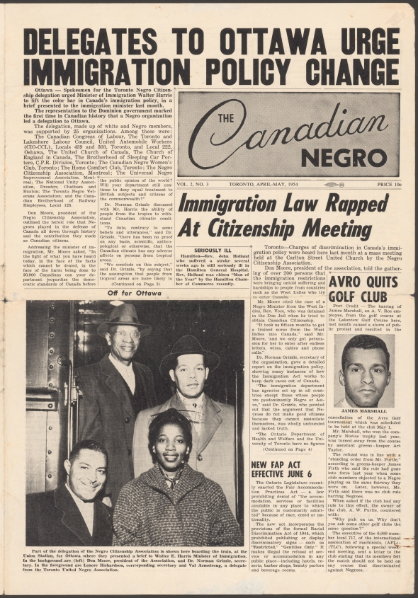 The Canadian Negro newspaper_April 1954