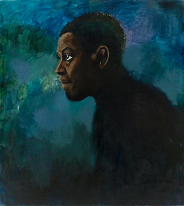 A painting by Lynette Yiadom Boakye_2011