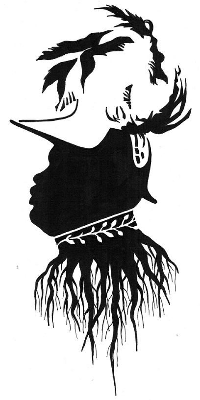 Bruce Patrick Jones_Silhouette of Marcus Mosiah Garvey - Copy