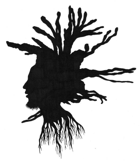 Bruce Patrick Jones_Silhouette of Robert Nesta Marley