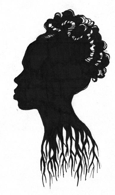 Jackie Ormes_ Silhouette by Bruce Patrick Jones