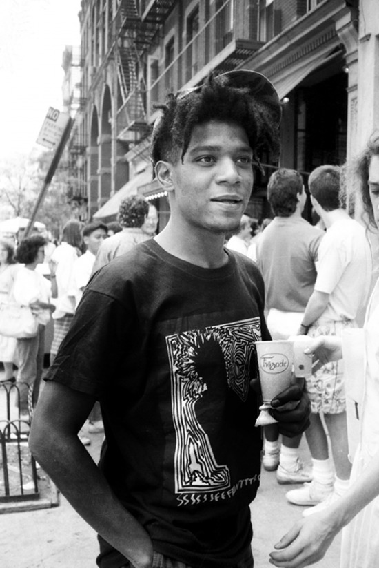 Jean-Michel Basquiat in 1986