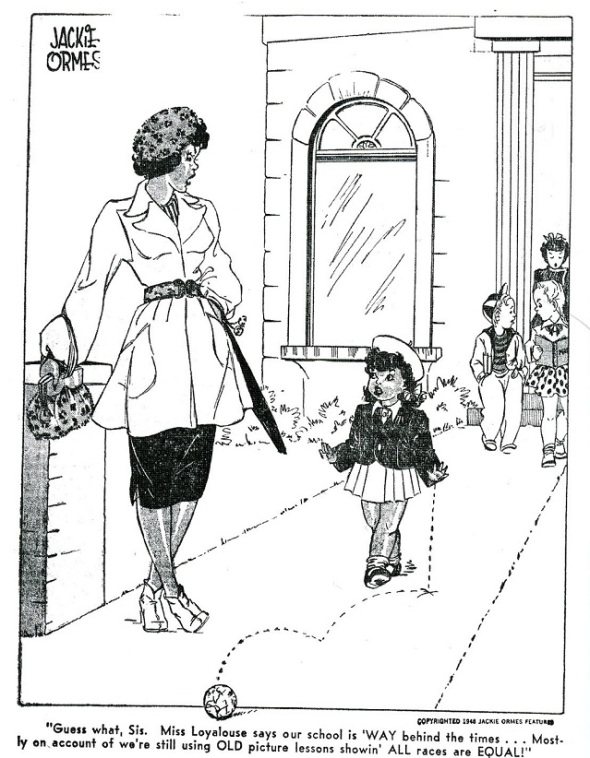 Patty Jo and Ginger_Guess what Sis..._by Jackie Ormes