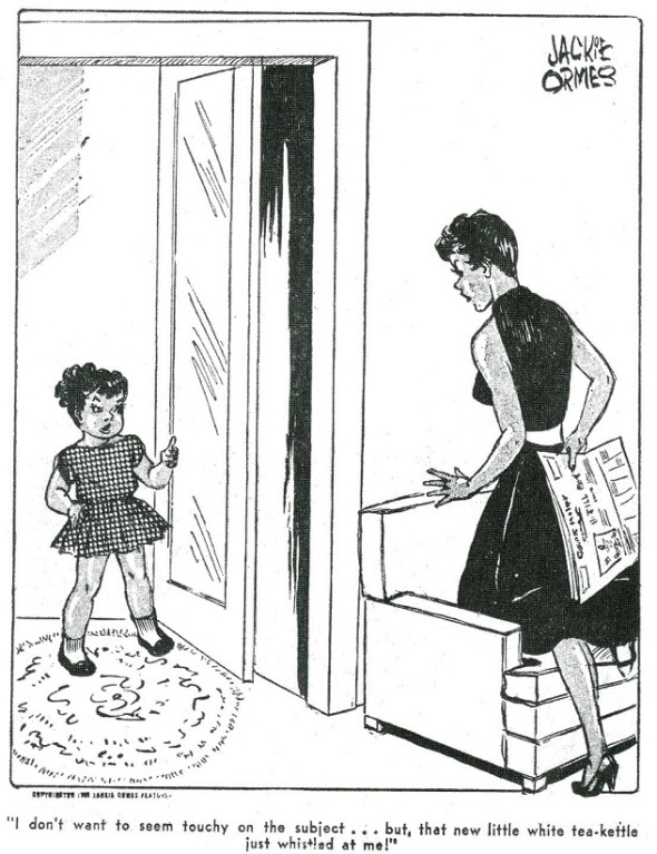 Patty Jo and Ginger_I dont want to seem touch on the subject but..._by Jackie Ormes