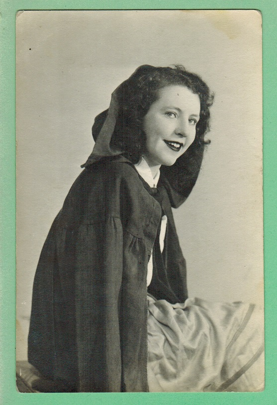"Eileen Thompson the ""Colleen""_Belfast, 1944"