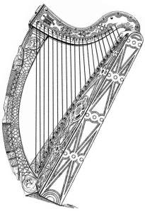 The Brian Boru Harp_a 15th century cláirseach