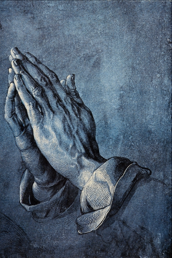 Albrecht Durer_Betende Hände_Praying Hands or Study of the Hands of an Apostle_drawn circa 1508