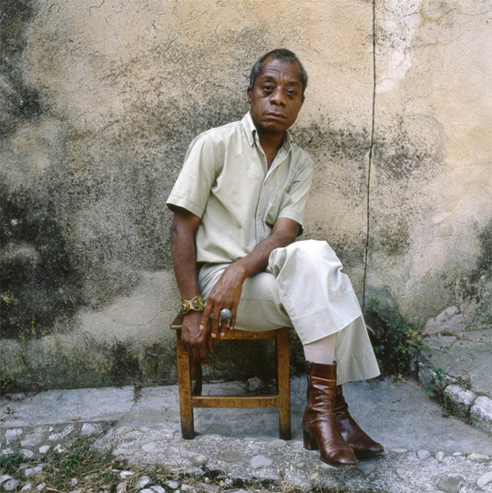 James Baldwin photographed in Saint Paul de Vence_France_late 1970s_ copyright Dmitri Kasterine
