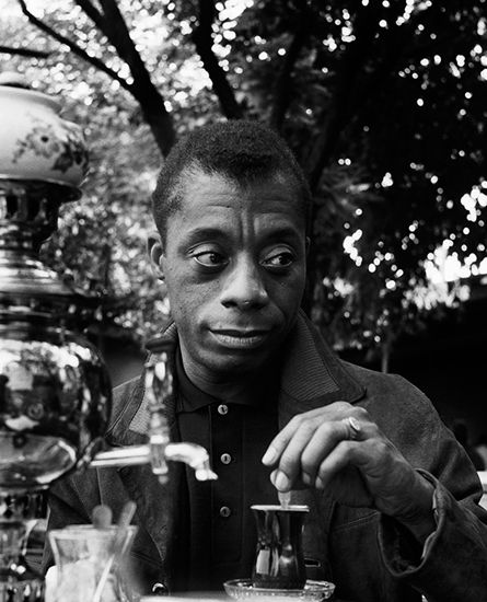 James Baldwin_probably a photograph from when he lived in Turkey...