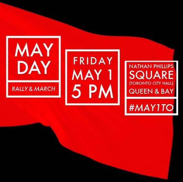 MayDay 2015 poster