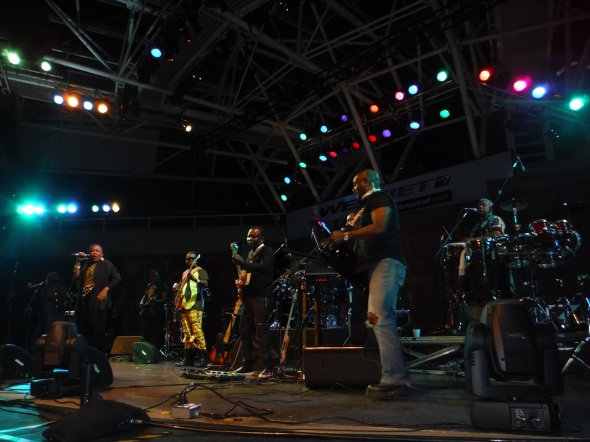 Les Phantoms avec King Kino_Harbourfront, Toronto_02 août 2015