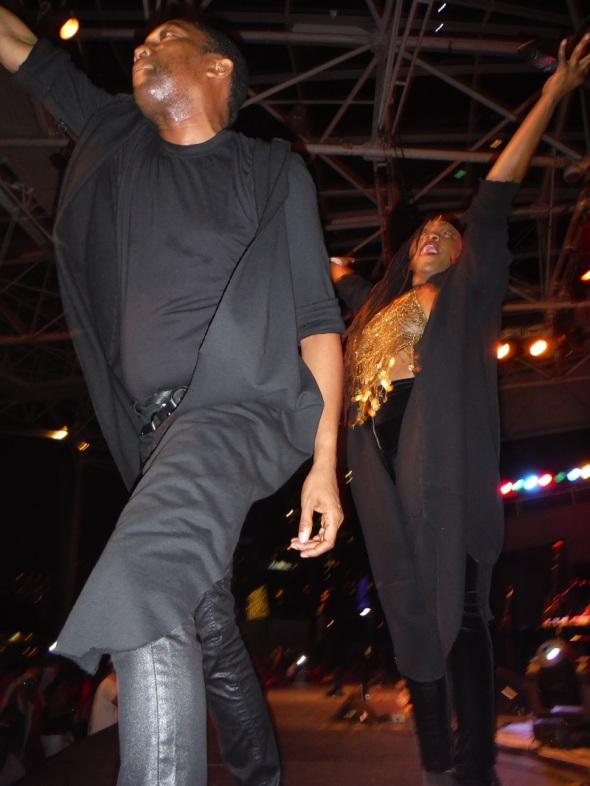 Chanteurs haïtiens du grand spectacle du groupe Les Phantoms_Festival Kompa Zouk Ontario 2015