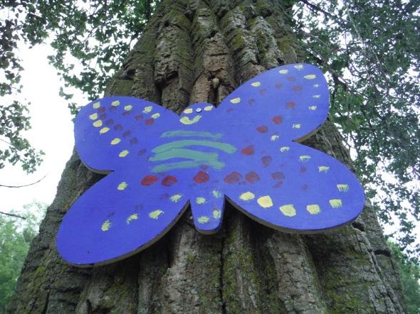 Mariposa de madera_Wards Island_Toronto_Agosto de 2015