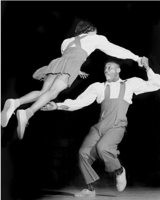 Frankie Manning the inventor of the Lindy Hop_and partner_1940s