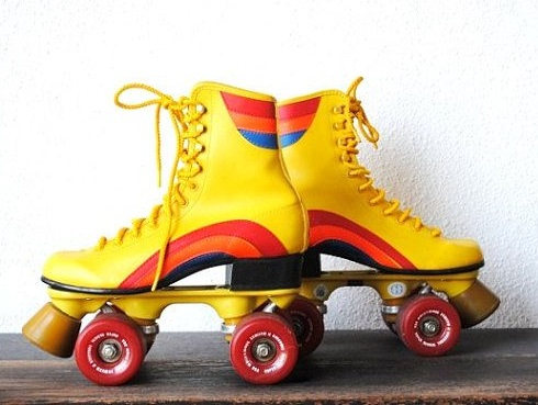 1970s era Roller Skates for rollerboogieing