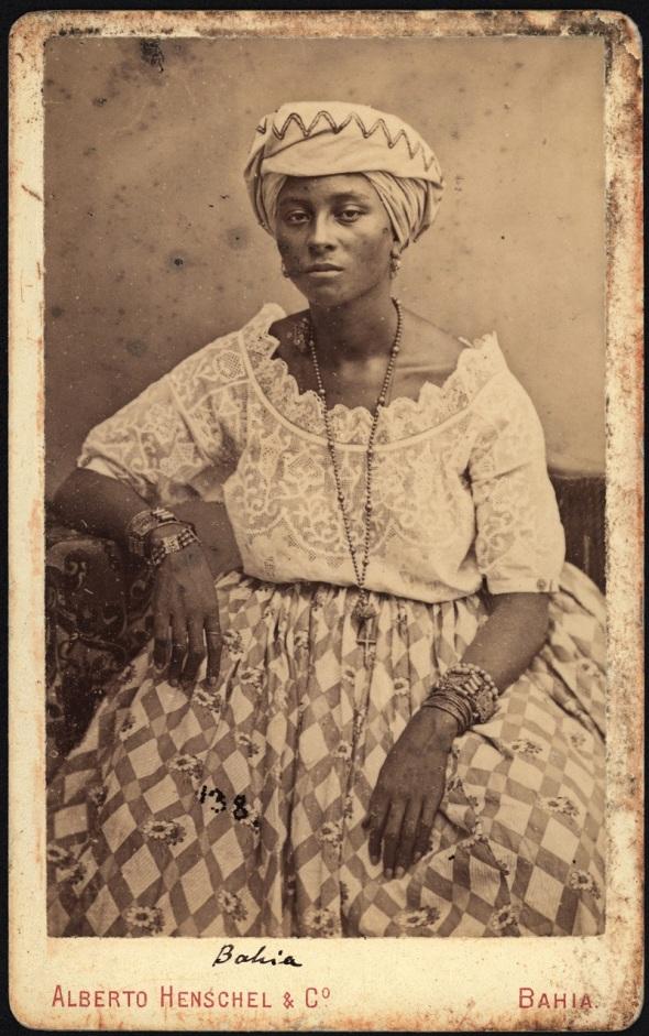 Alberto Henschel_Negra de Bahia_1869