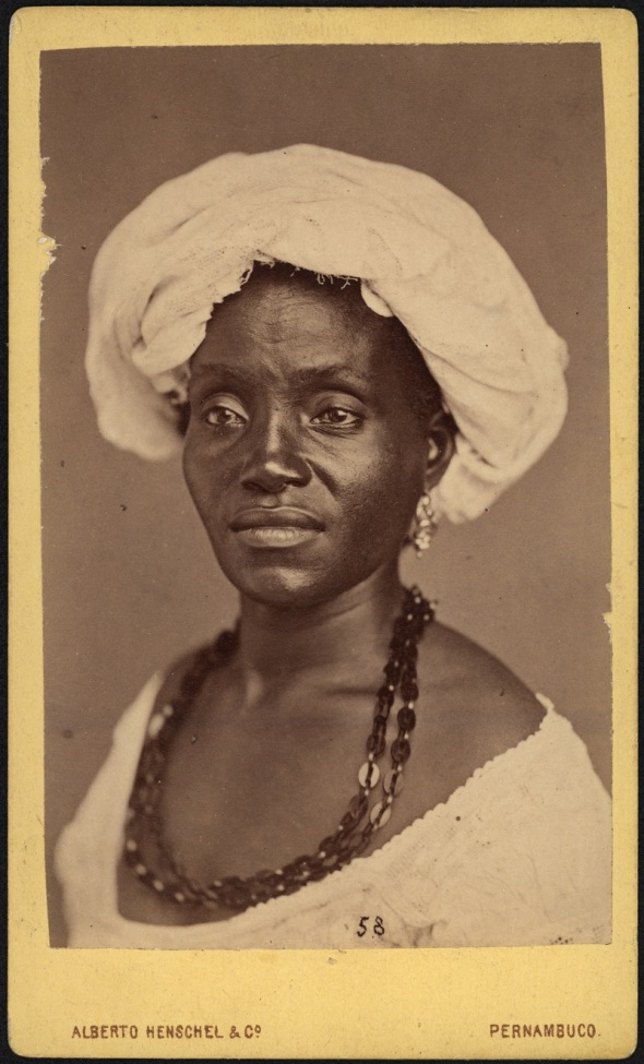 Alberto Henschel_Negra de Pernambuco_1869