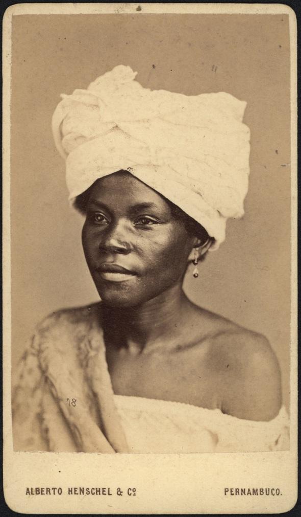 Alberto Henschel_Negra de Pernambuco_Brasil_1869