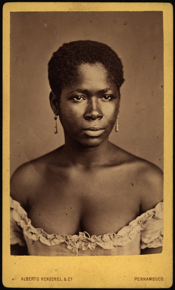 Alberto Henschel_uma negra de Pernambuco_1869