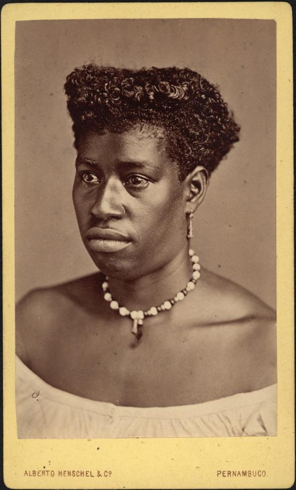 Alberto Henschel_retrato da negra de Pernambuco_1869